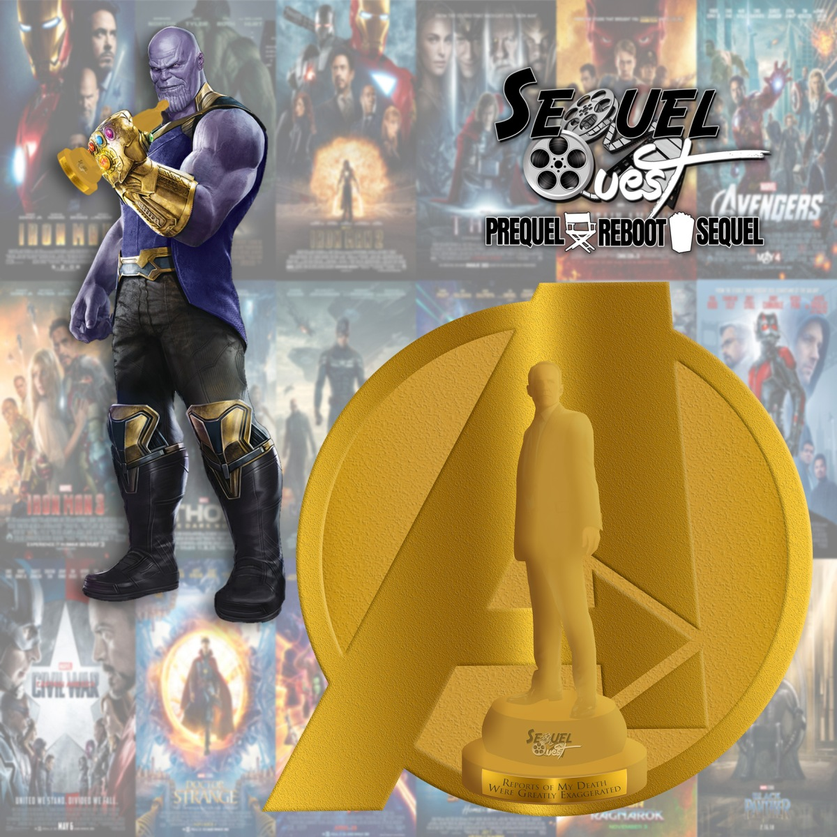 EP73 | Inaugural MCU Phil Coulson Awards | SequelQuest