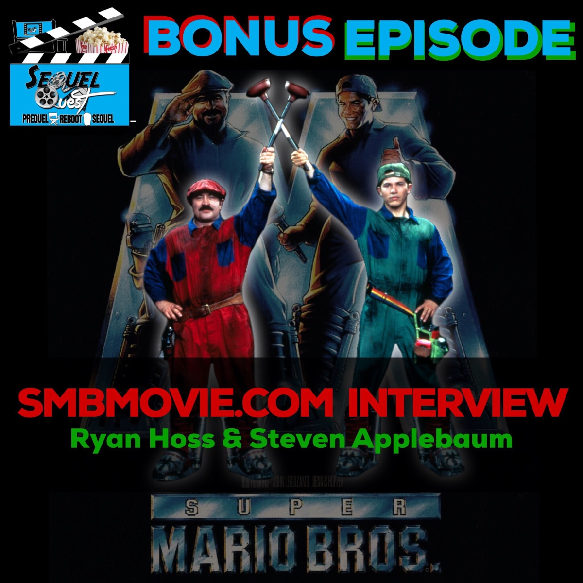 BONUS EP 8 | Super Mario Brothers Movie Interview